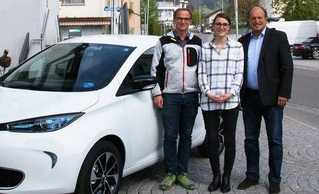 Carsharing-Info-Tag in Hörbranz